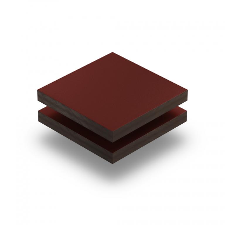 Panneau HPL structuré rouge vin