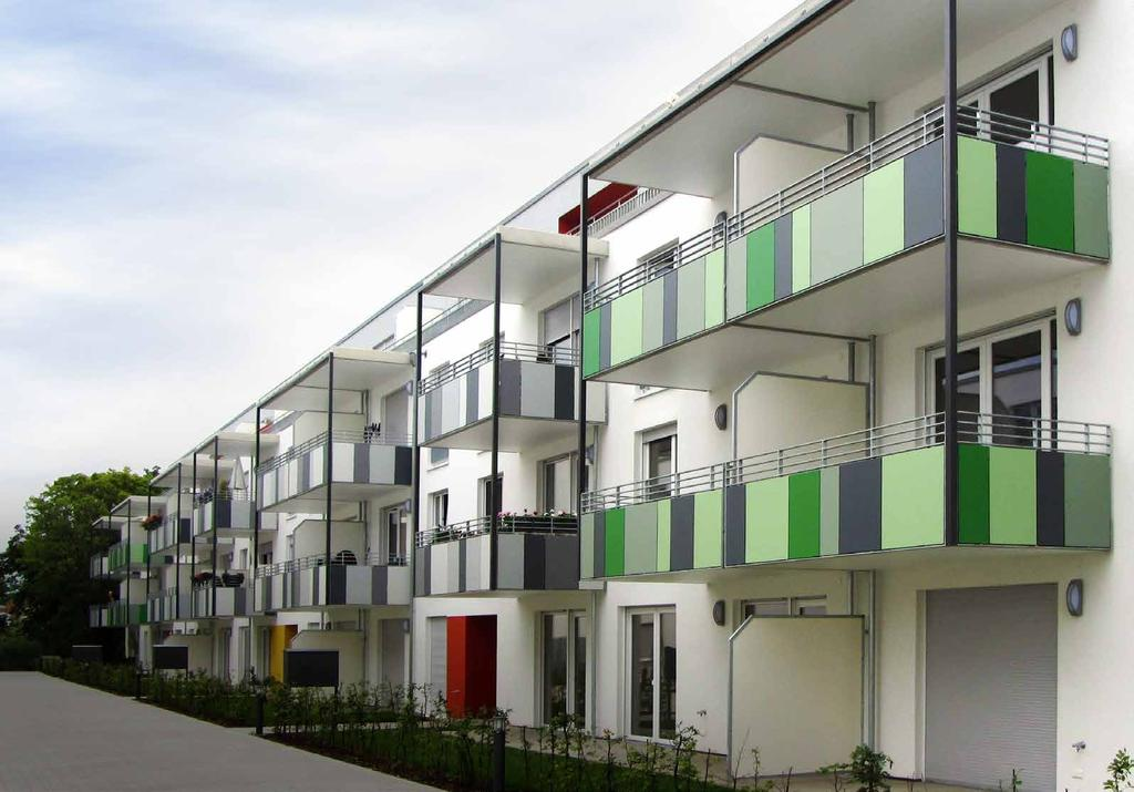 Revetement de balcon HPL