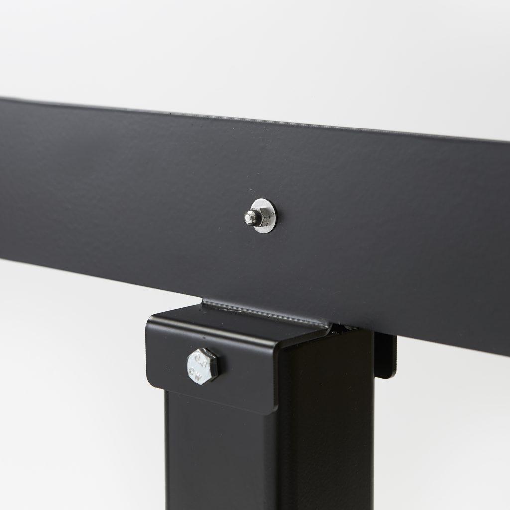 Base en acier pour monter ecran acrylique