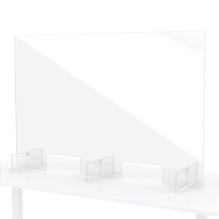 Ecran en plexiglass pour comptoir