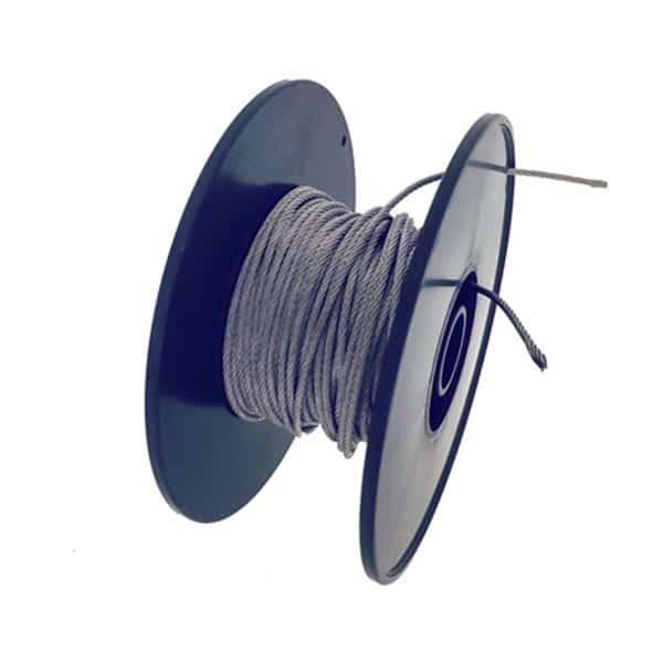 Fil en acier inoxydable - Systeme de suspension acrylique