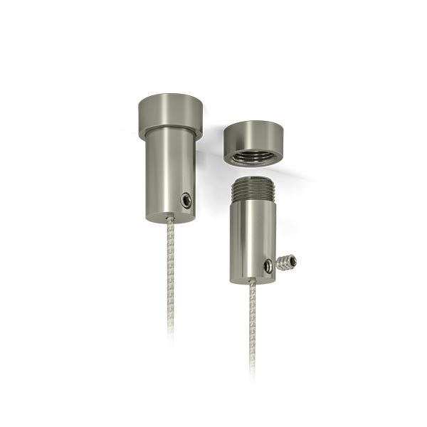 Support de plafond - Systeme de suspension acrylique