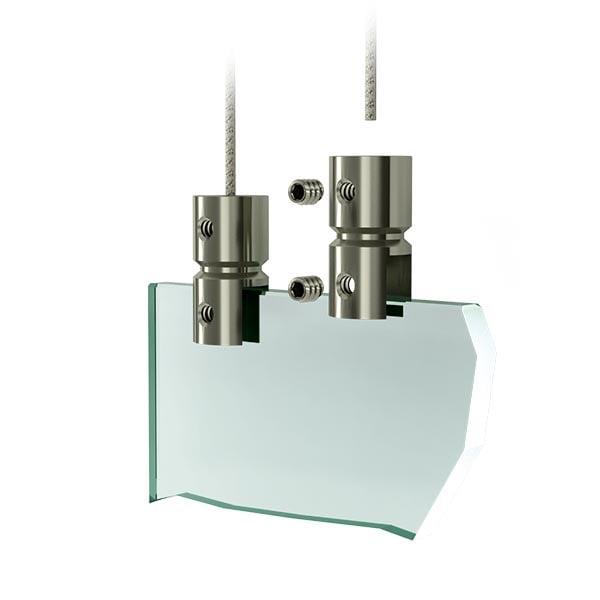 Support de plaque - Systeme de suspension acrylique