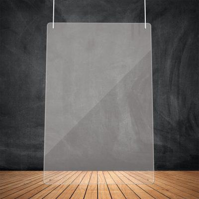 Suspension transparente (100x75 cm)