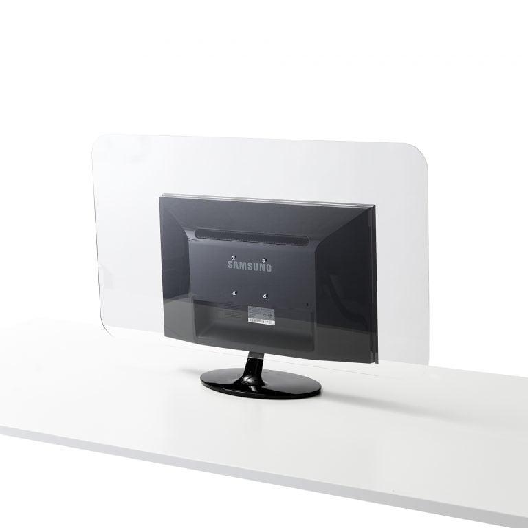 Ecran du moniteur en plexiglass