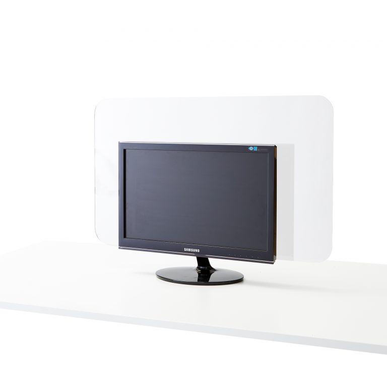 Ecran en plexiglass pour ordinateur