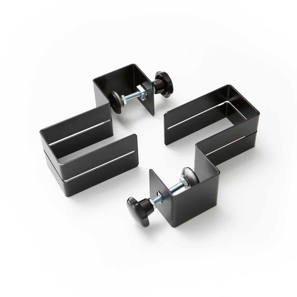 Ensemble de pinces pour plaques en plexiglass