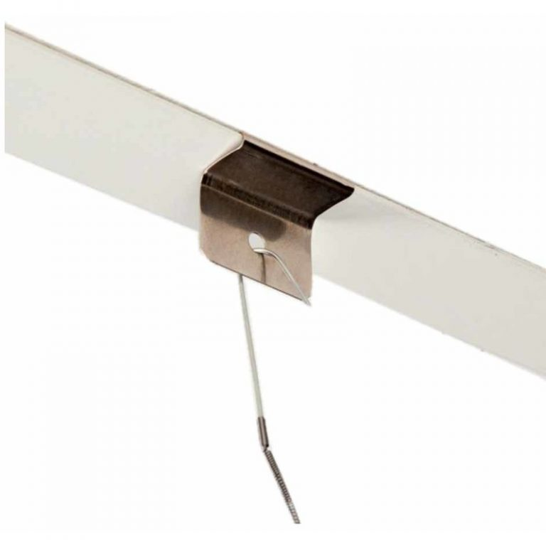 Fixation clip de suspension pour plafond
