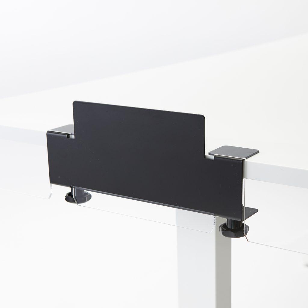 Pince pour monter plaque plexiglass sur bureau ou table