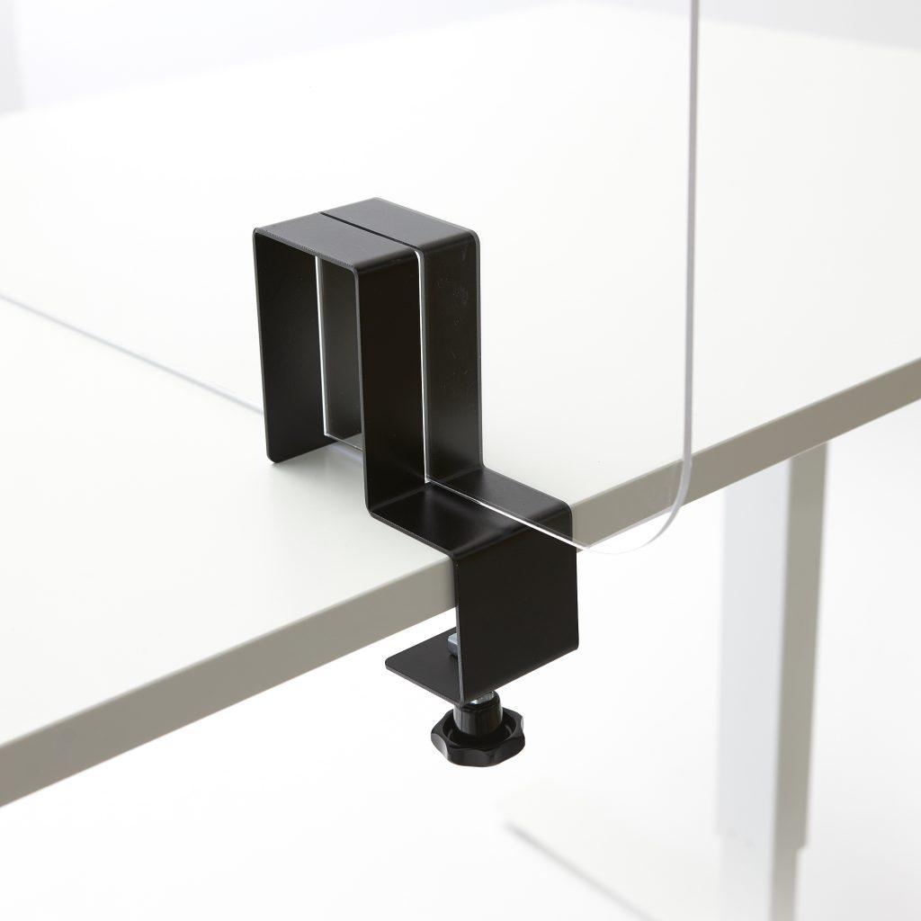 Support plexiglass pour sur la table