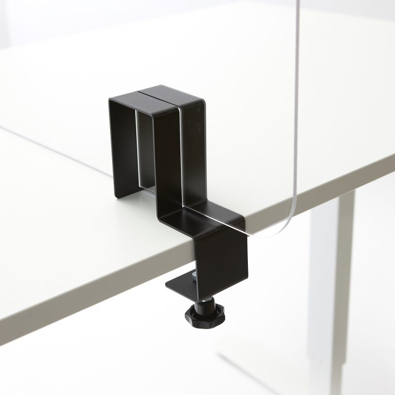 Support plexiglass pour sur la table