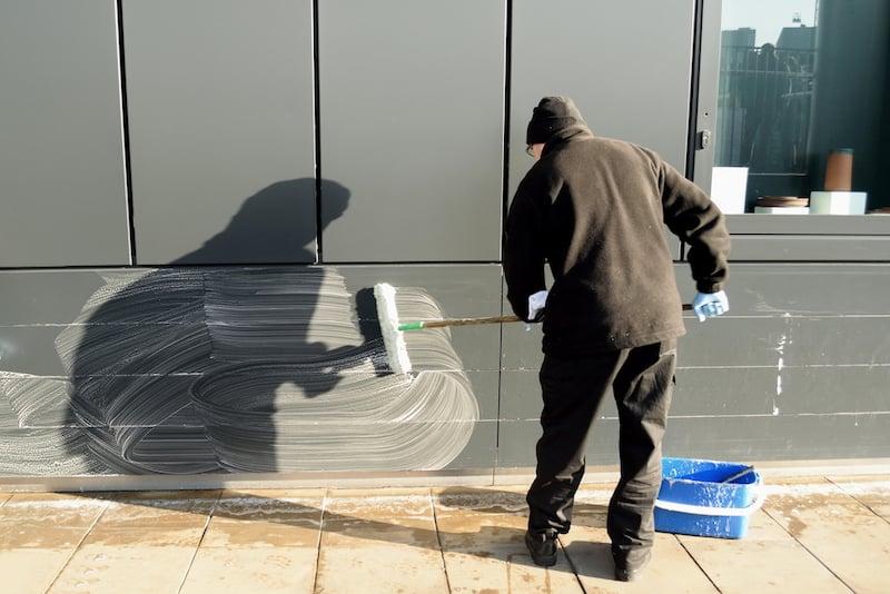Nettoyer du plastique Trespa® en extérieur