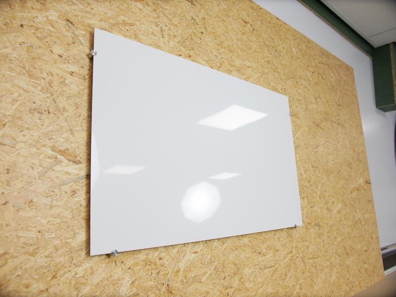 bricolage tableau blanc en plastique