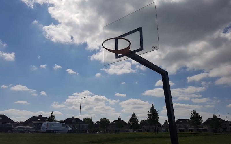 Panneau de basket en polycarbonate