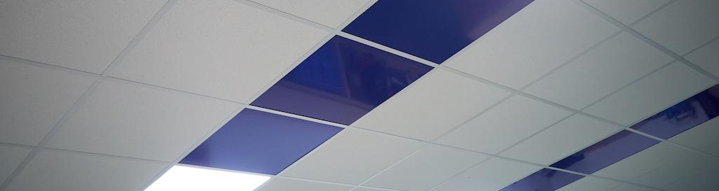 Revetement plafond en plastique