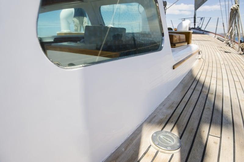 Vitres de bateau en polycarbonate verre de securite