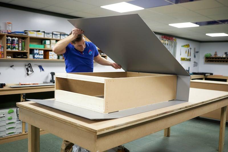 Plier le panneau composite aluminiumPlier le panneau composite aluminium