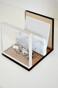 Accessoires de bureau plexiglass