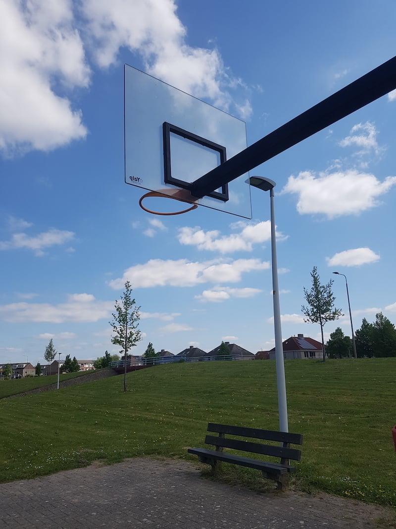 Panneau basket polycarbonate