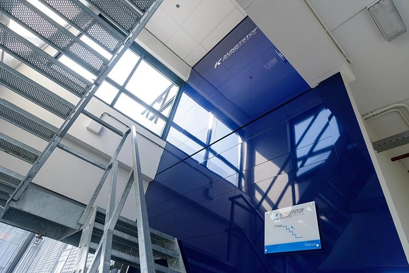 Paroi de mosaique en panneaux composites en aluminium