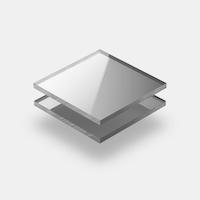 Plaques plexiglass miroir