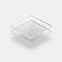 Plaques plexiglass translucide
