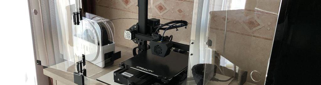 Boîtier pour imprimante 3D banner