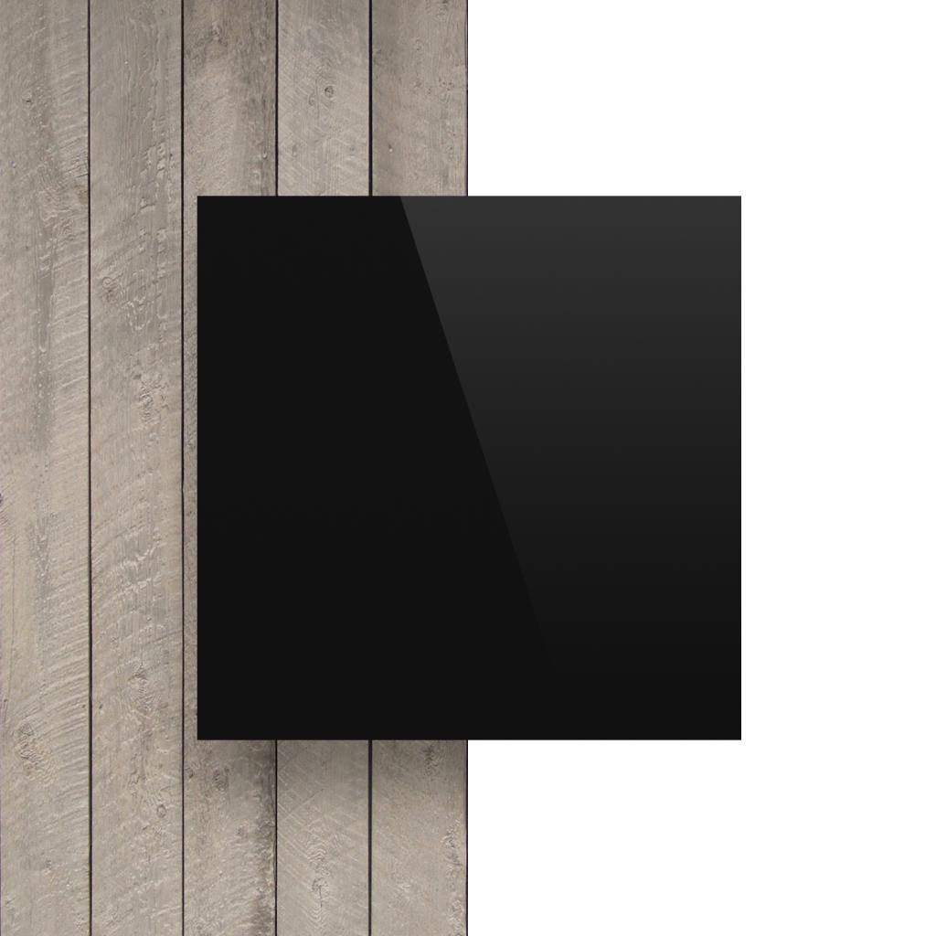 Plaque avec lettres noir devant