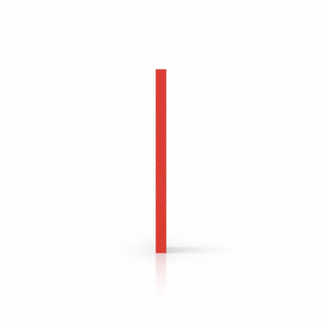 Plaque avec lettres rouge signalisation côté