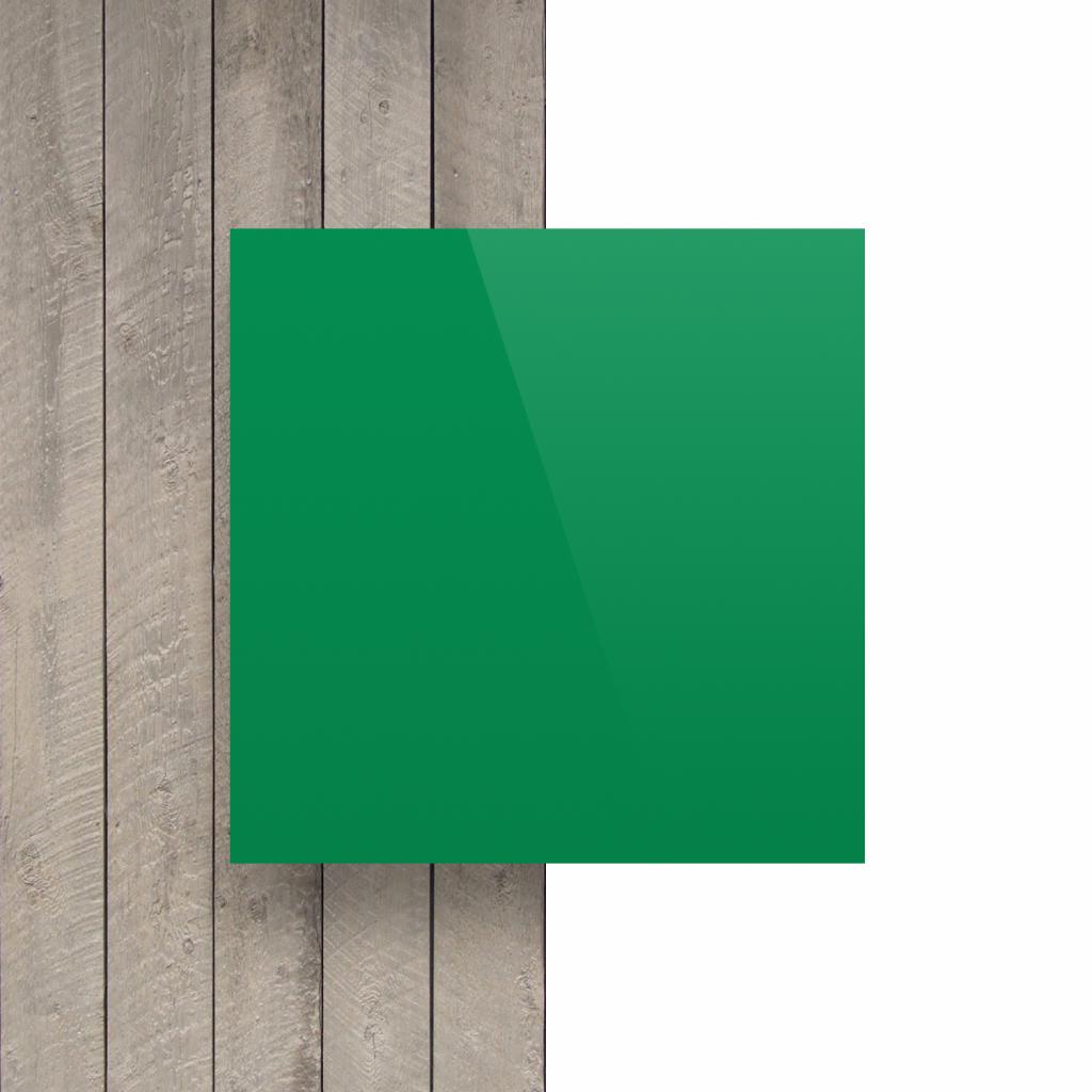 Devant plaque de lettres en acrylique vert menthe brillant