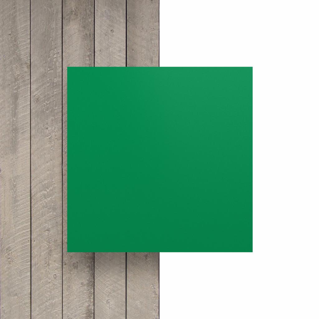 Devant plaque de lettres en acrylique vert menthe mat