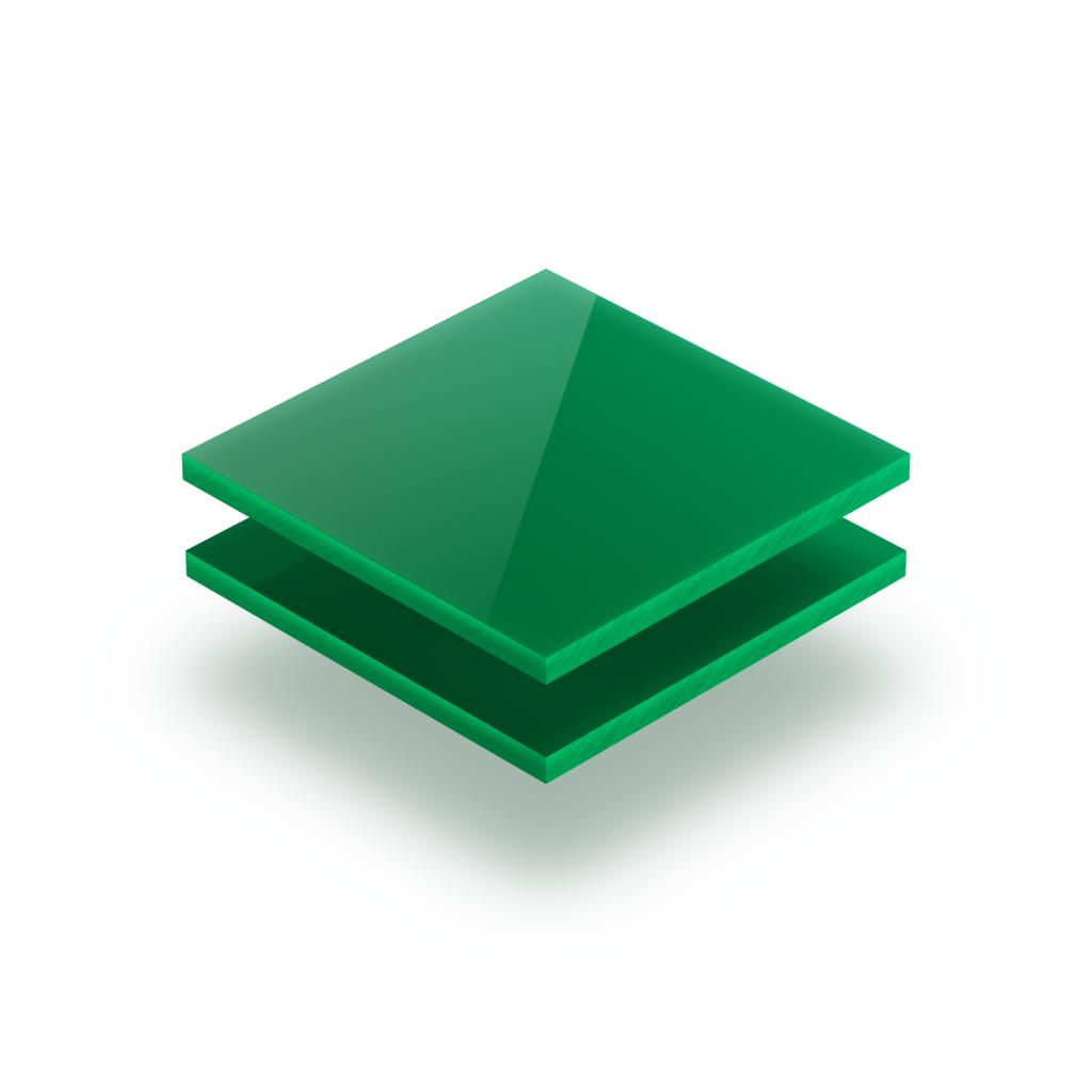 Plaque de lettres en acrylique vert menthe brillant