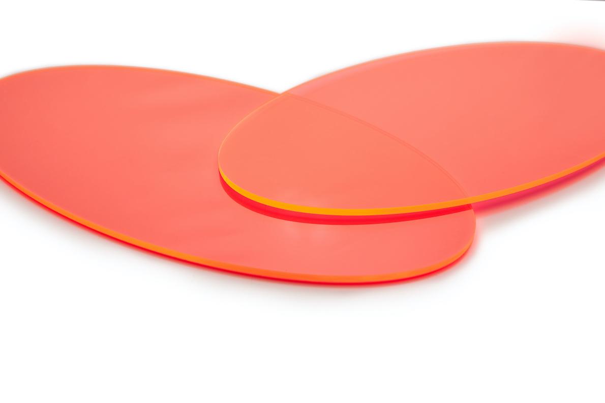 Forme en plastique ovale